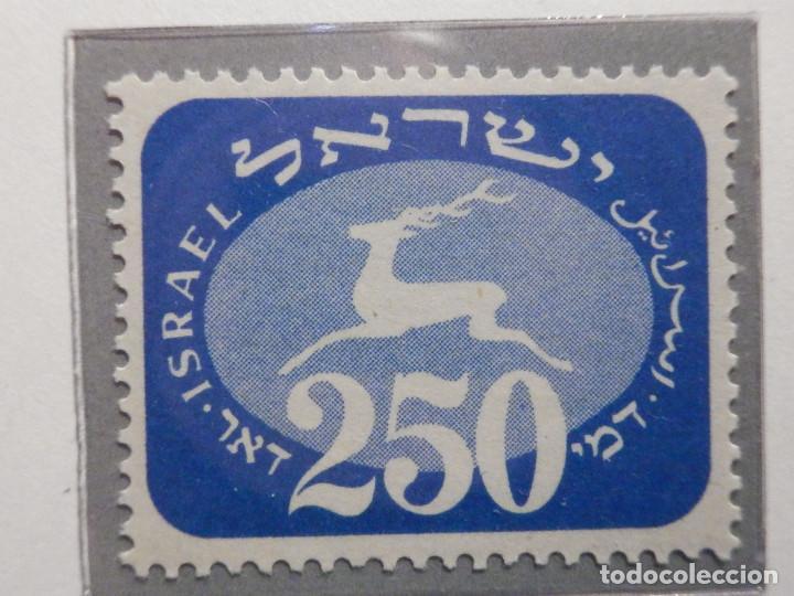 Sellos: Israel Tasas - Taxe - Segnatasse - Año 1952 Yvert & Tellier Nº 12 al 20 - Nuevos - Fiscales - Foto 10 - 194255221
