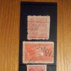 Sellos: LOTE - COLECCIÓN - 3 SELLOS - REPÚBLICA DE CUBA - USADOS. Lote 196140921