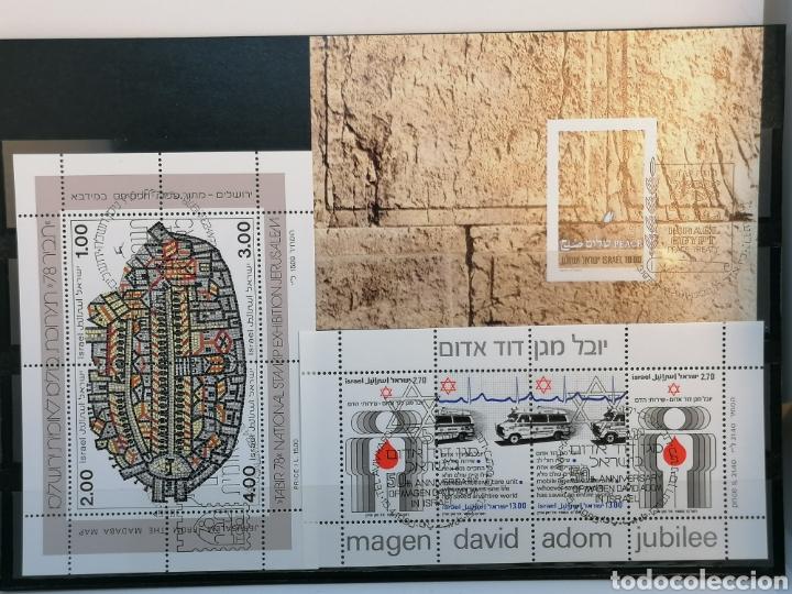 ISRAEL HBS 1978 A 1980 CON MATASELLOS CONMEMORATIVOS (Sellos - Extranjero - Asia - Israel)