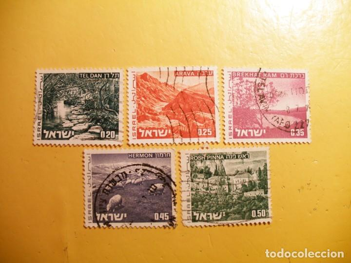 ISRAEL 1994 - TELDAN, ARAVA, BREKHAT RAM, HERMON Y ROSH PINNA. (Sellos - Extranjero - Asia - Israel)