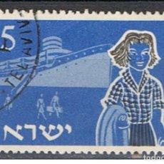Sellos: ISRAEL // YVERT 86 // 1955 ... USADO. Lote 205821398