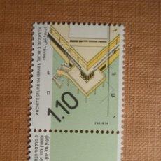 Sellos: SELLO ISRAEL - YVERT 1118 - AÑO 1990 - ARQUITECTURA 1,10 - CON TAB - NUEVO *** NIS 101. Lote 206189518