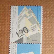 Sellos: SELLO ISRAEL - YVERT 1119 - AÑO 1990 - ARQUITECTURA 1,20 - CON TAB - NUEVO *** NIS 100. Lote 206189522