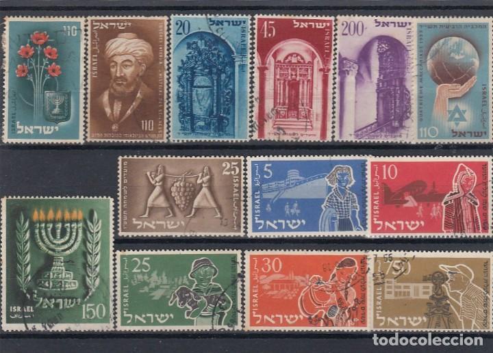 Sellos: Colección de sellos de israel. Usados. - Foto 4 - 210182626