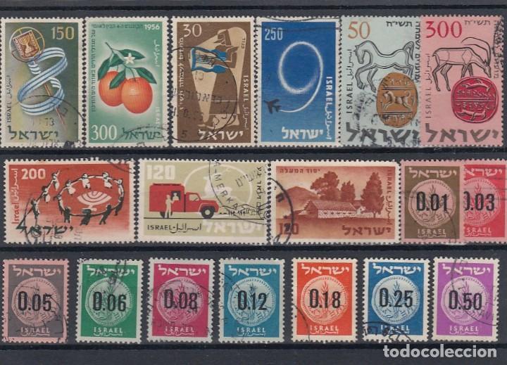 Sellos: Colección de sellos de israel. Usados. - Foto 6 - 210182626