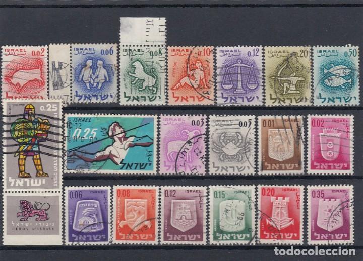 Sellos: Colección de sellos de israel. Usados. - Foto 8 - 210182626