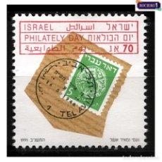 Sellos: ISRAEL 1991. MICHEL 1203, SCOTT 1095. DÍA DE LA FILATELIA. NUEVO** MNH SIN GOMA. Lote 218539696