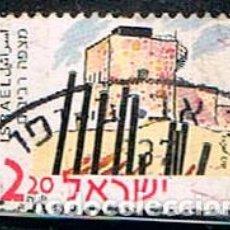 Sellos: ISRAEL Nº 1571, MITZPE REVIVIM, FUNDAD EN 1943 (ANTES DE LA CREACIÓN DEL ESTADO DE ISRAEL) USADO. Lote 227688275