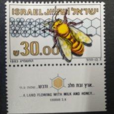 Sellos: ISRAEL 1983. ***MNH. EUROPEAN HONEY BEE (APIS MELLIFERA) MI:IL 920,. Lote 243412430