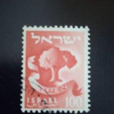 Sellos: ISRAEL 100, ASHER AÑO 1957.. Lote 268439704