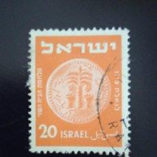 Sellos: ISRAEL 20 LIBRA AÑO 1951.. Lote 268443429