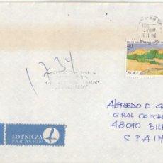 Sellos: CORREO AEREO: ISRAEL 1988. Lote 277115943