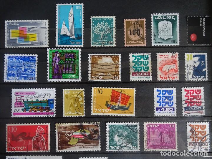 Sellos: LOTE DE 2 PÁGINAS ALBUM SELLOS VARIADOS DE ISRAEL, ANTIGUOS Y MODERNOS, VER FOTOS - Foto 6 - 286331598