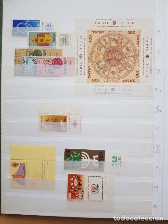 Sellos: ISRAEL NUEVOS + CLSIFICADOR Y HOJAS BLOQUE AÑOS 1950 A 80 APROX - Foto 9 - 286486458