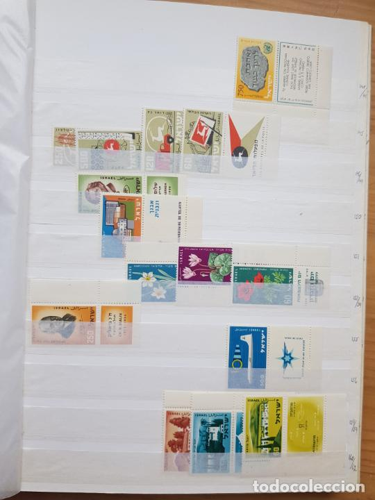Sellos: ISRAEL NUEVOS + CLSIFICADOR Y HOJAS BLOQUE AÑOS 1950 A 80 APROX - Foto 10 - 286486458