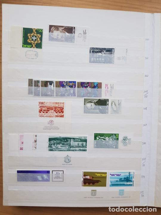Sellos: ISRAEL NUEVOS + CLSIFICADOR Y HOJAS BLOQUE AÑOS 1950 A 80 APROX - Foto 19 - 286486458