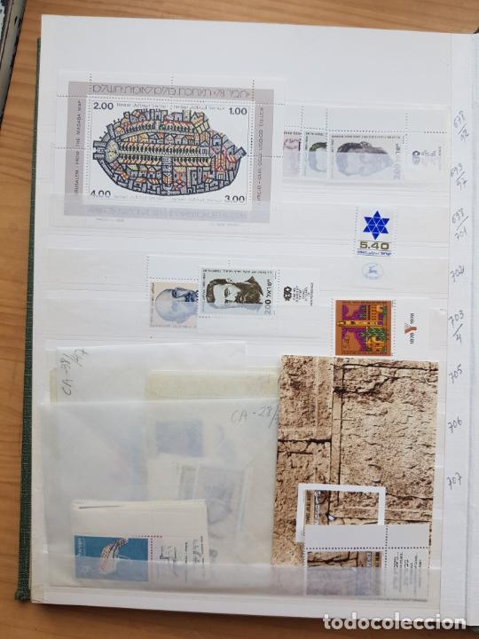 Sellos: ISRAEL NUEVOS + CLSIFICADOR Y HOJAS BLOQUE AÑOS 1950 A 80 APROX - Foto 33 - 286486458