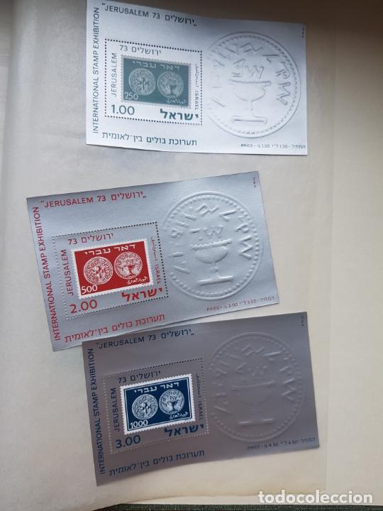 Sellos: ISRAEL NUEVOS + CLSIFICADOR Y HOJAS BLOQUE AÑOS 1950 A 80 APROX - Foto 37 - 286486458