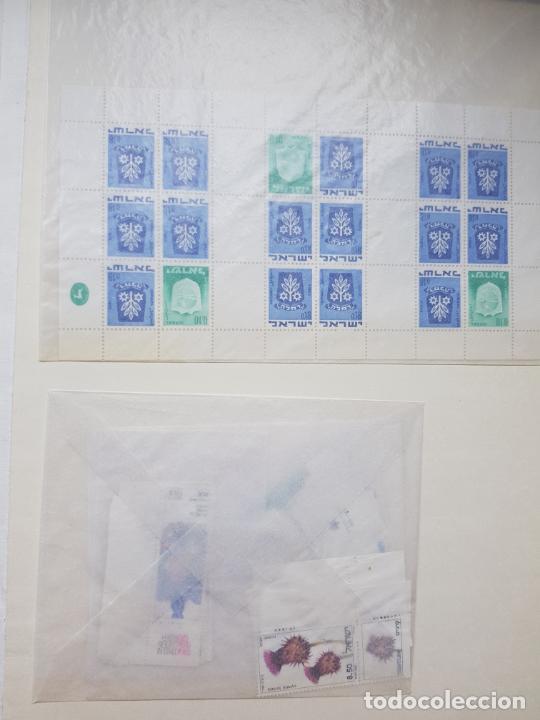 Sellos: ISRAEL NUEVOS + CLSIFICADOR Y HOJAS BLOQUE AÑOS 1950 A 80 APROX - Foto 40 - 286486458