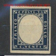 Sellos: CERDEÑA 12* - AÑO 1855 - VICTOR MANUEL II. Lote 24625805