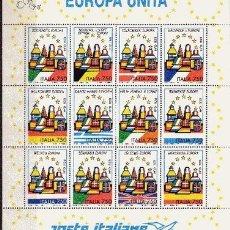 Sellos: ITALIA 1987/98** - AÑO 1993 - UNIDAD EUROPEA. Lote 21645356