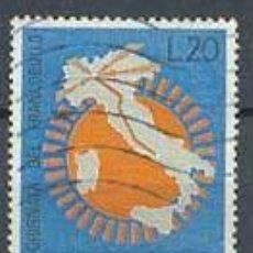 Sellos: ITALIA, IVERT Nº 937, DÍA DEL SELLO 1965, USADO. Lote 7033640
