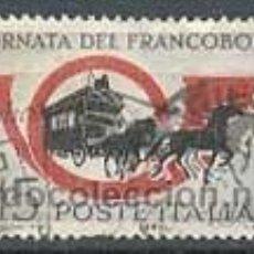 Sellos: DÍA DEL SELLO, DILIGENCIA POSTAL, AÑO 1960, IVERT Nº 825 USADOS. Lote 7558711