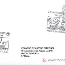 Sellos: ITALIA 2008.- MATASELLO ESPECIAL.- CAMPEONATO DEL MUNDO DE CICLO CROSS 08.- TREVISO-VENETO. Lote 7824065