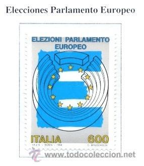 ITALIA 1994 ELECCIONES AL PARLAMENTO EUROPEO YVERT 2070 (Sellos - Extranjero - Europa - Italia)