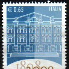 Sellos: ITALIA 2008 SCOTT 2850 SELLO * 200 AÑOS DE LA BOLSA ITALIANA 0,65€ S/GOMA ITALY STAMPS TIMBRE ITALIE. Lote 13115250