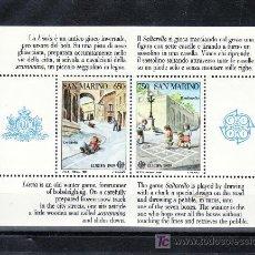 Sellos: SAN MARINO HB 15 SIN CHARNELA, TEMA EUROPA, JUEGOS INFANTILES, . Lote 18196820