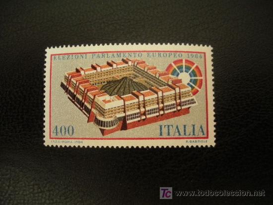 ITALIA 1984 IVERT 1610 *** ELECCIONES AL PARLAMENTO EUROPEO (Sellos - Extranjero - Europa - Italia)