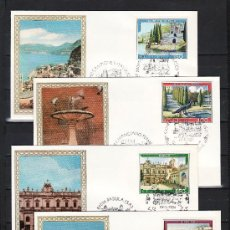 Sellos: ITALIA 1623/6 PRIMER DIA, TURISMO, VISTAS, . Lote 20004252