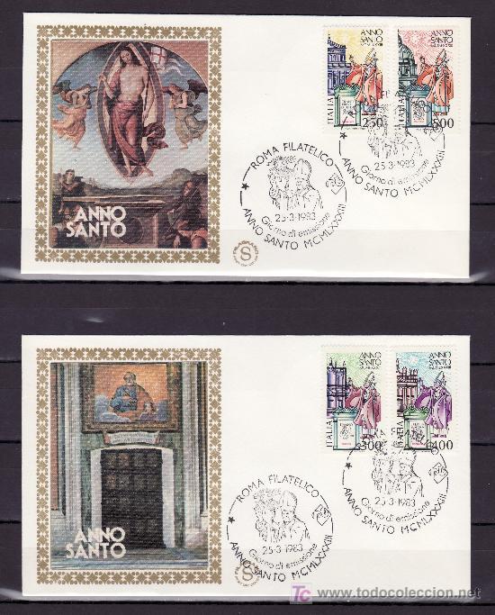 ITALIA 1562/5 PRIMER DIA, JUAN PABLO II, AÑO SANTO, (Sellos - Extranjero - Europa - Italia)