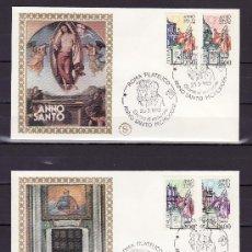 Sellos: ITALIA 1562/5 PRIMER DIA, JUAN PABLO II, AÑO SANTO, . Lote 18005008