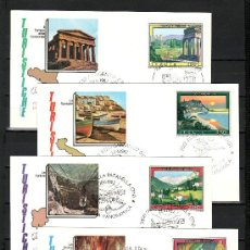 Sellos: ITALIA 1536/9 PRIMER DIA, TURISMO, VISTAS, . Lote 18005265
