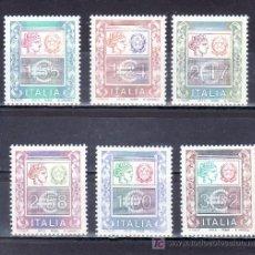 Sellos: ITALIA 2540/5 SIN CHARNELA, EMBLEMA. Lote 18076886