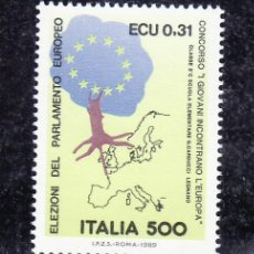 Sellos: ITALIA 1815 SIN CHARNELA, 3ª ELECCIONES DEL PARLAMENTO EUROPEO, . Lote 18100861