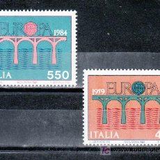 Sellos: ITALIA 1618/9 SIN CHARNELA, TEMA EUROPA, 25º ANIVERSARIO DE LA CONFERENCIA EUROPEA. Lote 18122811