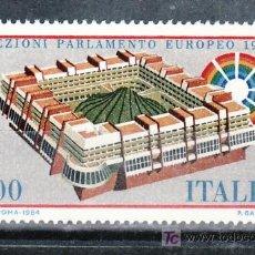 Sellos: ITALIA 1610 SIN CHARNELA, PARLAMENTO EUROPEO . Lote 18122860