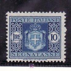 Sellos: ITALIA TASA 63 SIN CHARNELA, ESCUDO. Lote 22271178