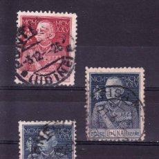 Sellos: ITALIA 175B/7B USADA, ANIVERSARIO DEL REY VICTOR MANUEL III. Lote 23991312