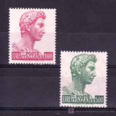 Sellos: ITALIA 738/9 SIN CHARNELA, . Lote 23321691