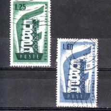 Sellos: ITALIA 731/2 USADA, TEMA EUROPA,. Lote 177607855