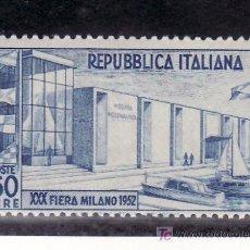 Sellos: ITALIA 623 SIN CHARNELA, BARCO, 30º FERIA DE MILAN, PABELLON MOTONAUTICO, . Lote 18560878