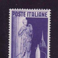 Sellos: ITALIA 598 CON CHARNELA, EXPOSICION INTERNACIONAL DEL TEXTIL Y DE LA MODA. Lote 18561246