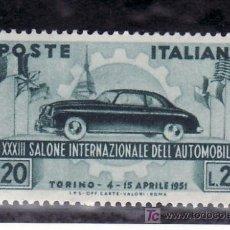 Sellos: ITALIA 593 SIN CHARNELA, 33º SALON INTERNACIONAL DEL AUTOMOVIL EN TURIN . Lote 18561501