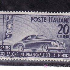 Sellos: ITALIA 555 SIN CHARNELA, AUTOMOVIL, 32º SALON INTERNACIONAL DEL AUTOMOVIL EN TURIN . Lote 21234754
