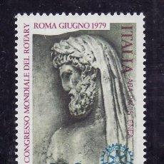 Sellos: ITALIA 1393 SIN CHARNELA, 70º CONGRESO INTERNACIONAL DEL -ROTARY- EN ROMA. Lote 177608082