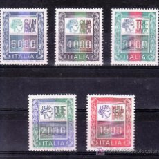Sellos: ITALIA 1367/71 SIN CHARNELA, . Lote 18376279